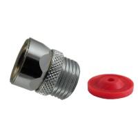 Ecrou Antitorsion Flexible douche - 15x21 - Laiton - 10 litres/min.