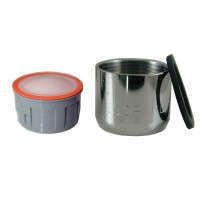 Mousseur sans air 2,5 lit - F22x100 - Eco 83% - Bague Femelle - Anticalcaire