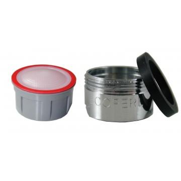 Mousseur sans air 4,5 lit - M24x100 - Eco 70% - Bague mâle - Anticalcaire