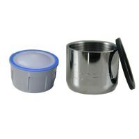 Mousseur sans air 8 litres - F22x100 - Eco 47% - Bague Femelle - Anticalcaire