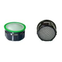 Mousseur aérateur grille inox - Recharge 22/24x100 - 6 litres/min. - Aéré