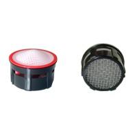 Mousseur aérateur grille inox - Recharge 22/24x100 - 4,5 litres/min. - Aéré