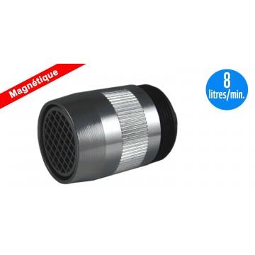 Mousseur Antitartre Magnétique 8 litres - F22x100 - Aéré - Adaptateur M24