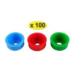 100 lots de 3 pastilles Eco - 6-10-12 litres/min. pour douche