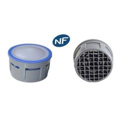 Mousseur aérateur 8 litres F22/M24 - Eco 47% - Recharge - Anticalcaire - NF EN 246