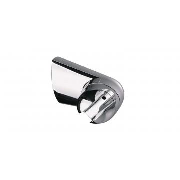 Support de douche pivotable - ABS Chromé - Ø 50 mm