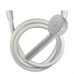 Kit Usage unique 1.20 m - douchette LOS - Flexible Blanc