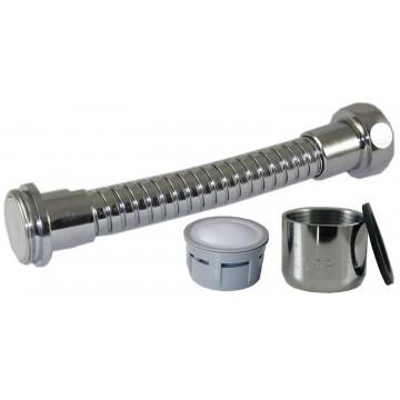Mousseur flexible 10 litres M24/F22 - Eco 33% - Aéré - Flexible métal universel
