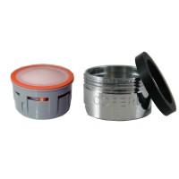 Mousseur aérateur 2,5 litres - M24x100 - Eco 83% - Bague Mâle
