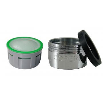 Mousseur aéré 6 litres - M24x100 - Eco 60% - Bague Mâle