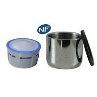 Mousseur aéré 8 litres - F22x100 - Eco 47% - Bague Femelle - NF EN 246