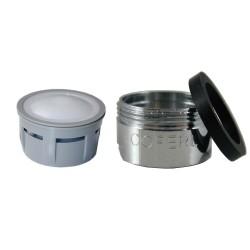 Mousseur aéré 10 litres - M24x100 - Eco 33% - Bague Mâle