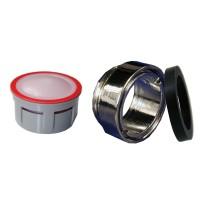 Mousseur aérateur 4,5 litres - M24x100 Antivol - Eco 70% - Bague Mâle