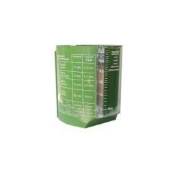 Débitmètre ECOPERL à lecture instantanée de 1 à 25 litres/min.