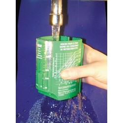 Débimètre ECOPERL à lecture instantanée de 1 à 25 litres/min.