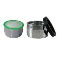 Mousseur sans air 6 litres - M24x100 - Eco 60% - Bague mâle - Anticalcaire