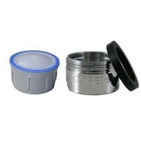 Mousseur sans air 8 litres - M24x100 - Eco 47% - Bague mâle - Anticalcaire