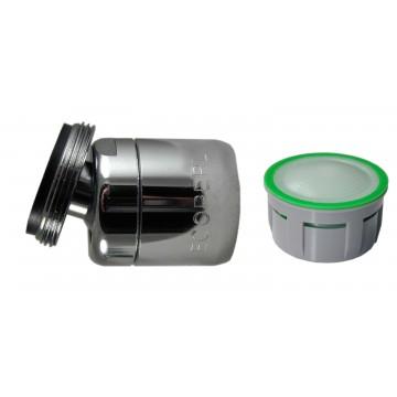 Mousseur orientable 6 litres M24x100 - Eco 60% - Aéré - Rotule mâle