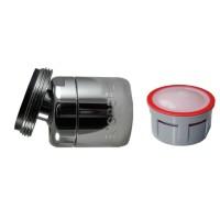 Mousseur orientable 4,5 litres M24x100 - Eco 70% - Aéré - Rotule mâle