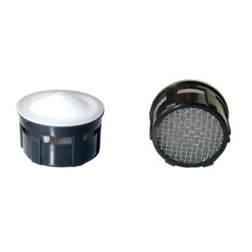 Mousseur aérateur 12 litres F22/M24 - Eco 20% - Recharge - Grille inox