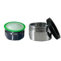 Mousseur aérateur grille inox - Mâle M24x100 - 6 litres/min. - Aéré