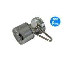 Mousseur débit variable maxi 8 litres - Universel F22/M24 - Aéré