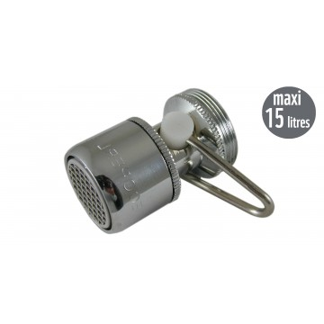 Mousseur débit variable maxi 15 litres - Universel F22/M24 - Aéré