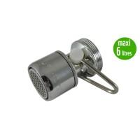 Mousseur débit variable maxi 6 litres - Universel F22/M24 - Aéré