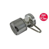Mousseur débit variable maxi 4,5 litres M24/F22 - Filetage Universel F22/M24  - Aéré