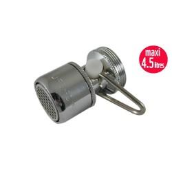 Mousseur débit variable maxi 4,5 litres - Universel F22/M24 - Aéré
