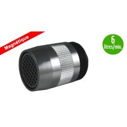 Mousseur Antitartre Magnétique 6 litres - F22x100 - Aéré - Adaptateur M24