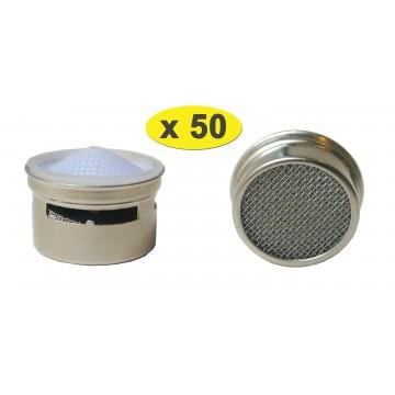 Lot de 50 Limitateurs de débit métalliques 6 litres F22/M24 - Eco 60% - Recharge