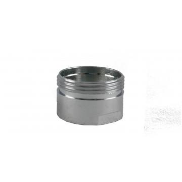 Bague robinet Chrome - M20x100 Mâle