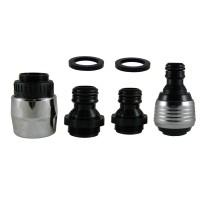 Coupleur Raccord Rapide + DUOJET 6 litres/min. + Connecteur flexible 1/2'' & 3/4''