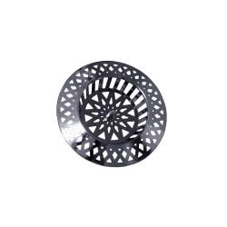 Tamis grille évier cuisine - PVC Chromé - 70 mm