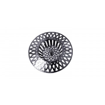 Tamis grille évier cuisine - PVC Chromé - 60 mm