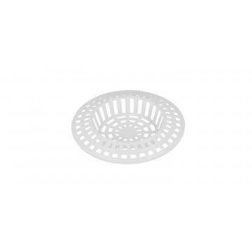 Tamis grille évier cuisine - PVC Blanc - 60 mm
