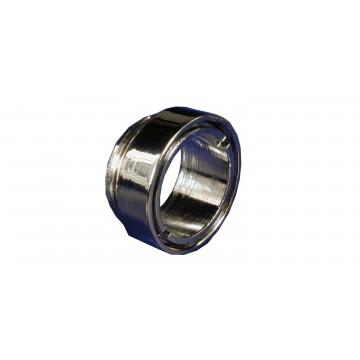 Bague robinet Antivol Mâle - Chrome - M24x100