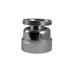 Rotule aérateur M28x100 Chrome orientable 360° - F28 - Laiton