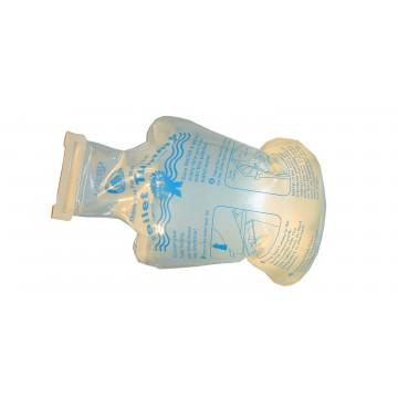 Sani-Sac ECO Réservoir WC - Polyuréthane Souple transparent - 2,5 litres
