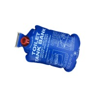 Sani-Sac ECO Réservoir WC - Polyuréthane Souple bleu - 2,5 litres