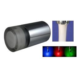 Régulateur de Jet à LED Température - Aéré - 8 litres/min. - Laiton - M24x100 + Adaptateur F22