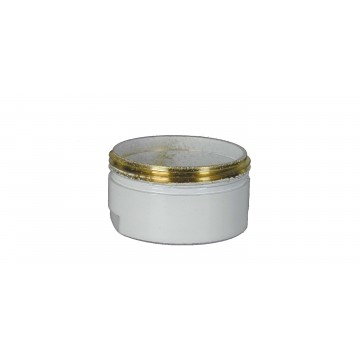 Bague robinet Blanc - M24x100 Mâle