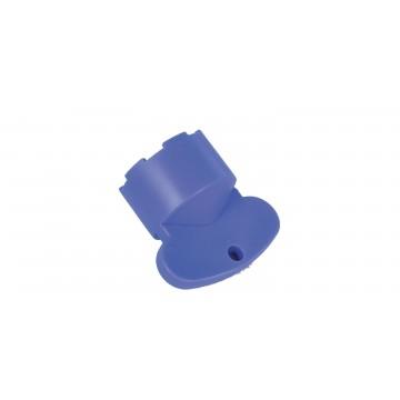 Clef de maintenance M21x100 aérateur invisible - Bleu