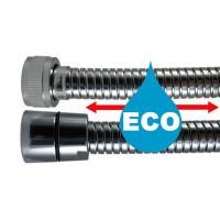"""Flexible Eco métal Extensible 1,75 à 2,25 m - Double Agrafage """" TENSIFLEX """" - Ecrous Laiton"""