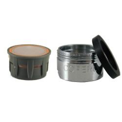 Mousseur aérateur NSF 1.95 gpm - M24x100 - Eco 50% - Bague Mâle