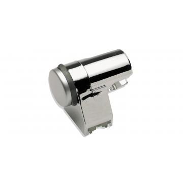 Support de douche pivotable - ABS Chromé - Ø 80 mm