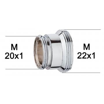 Adaptateur raccord Laiton - M20x100 à M22x100