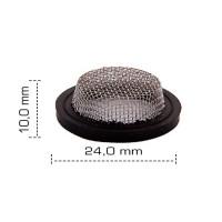 Joint tamis chapeau - 20x27 - 3/4'' - Ø 24.2 mm - NBR noir - ACS