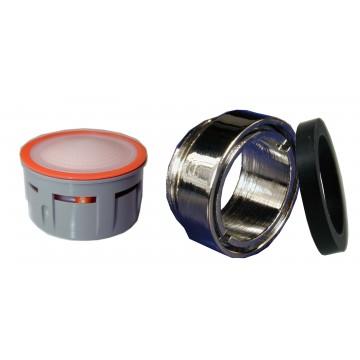 Mousseur sans air 2,5 lit - M24x100 Antivol - Eco 83% - Bague Mâle - Anticalcaire